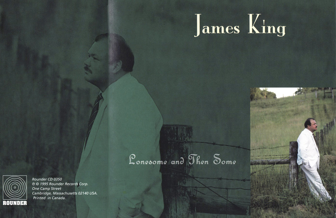 James King, Lonesome and Then Some