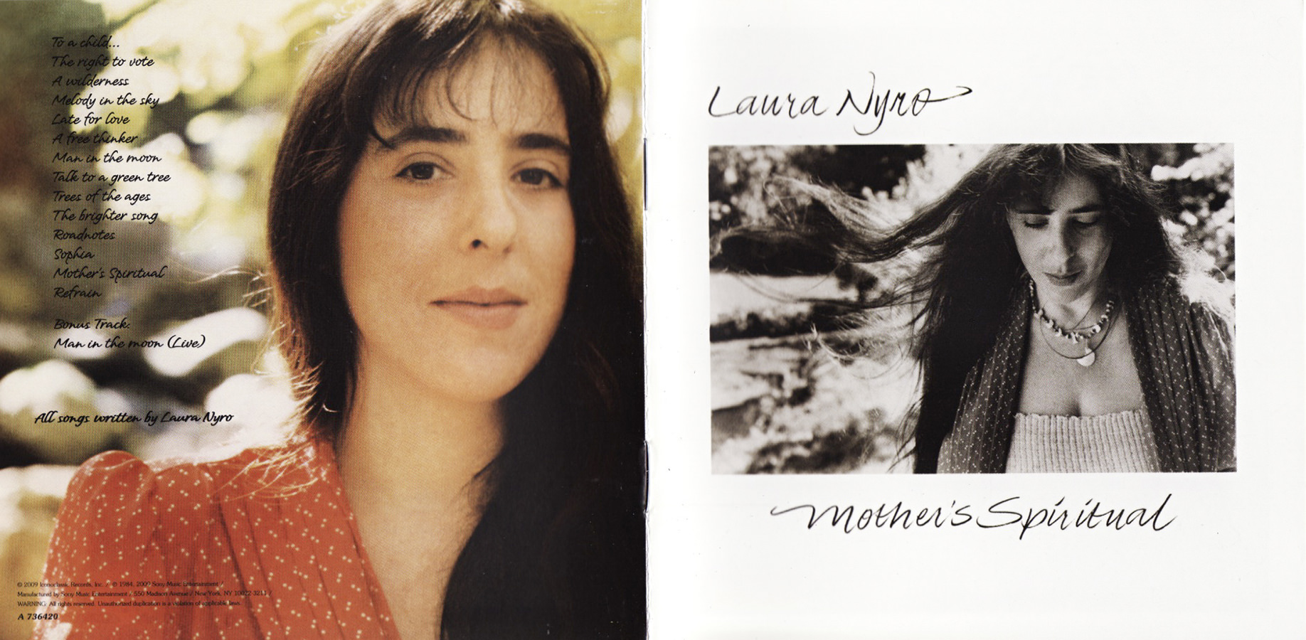 Laura Nyro, Mother's Spiritual