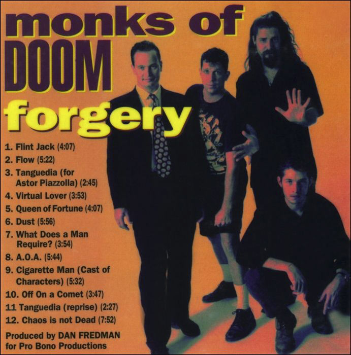 Monk of Doom, Forgery