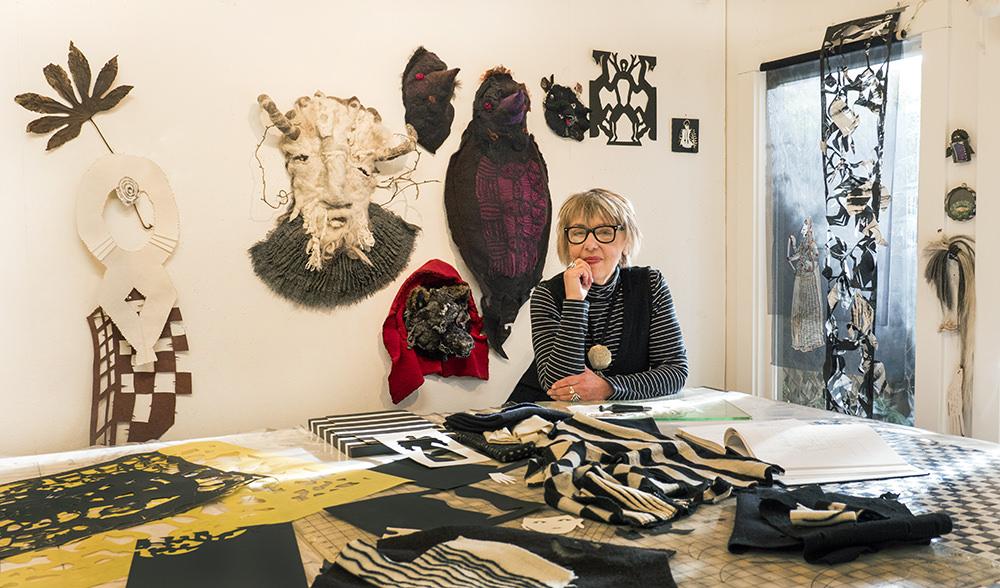 Artist, Jean Cacicedo, Berkeley, CA